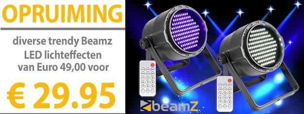 Opruiming Beamz LED lichteffecten PLS15 PLS20 PLS10 PLS25 PLS35
