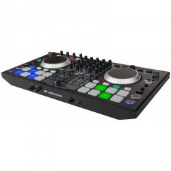 Professionele 4-kanaals DJ Controller - MIDI Controller - dj-kontrol 4