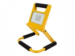 herlaadbare led-werklamp - slank design - 10 w - 4000 k - ewl421nw-r