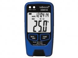 datalogger voor temperatuur en vochtigheidsgraad met usb-uitgang - DEM105