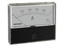 analoge paneelmeter voor dc stroommetingen 1a dc / 70 x 60mm - AIM701000