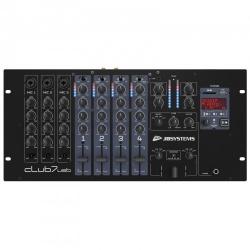 DJ Mixer Club Mixer met ingebouwde USB - SD Mediaspeler - club7-usb