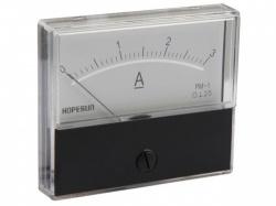 analoge paneelmeter voor dc stroommetingen 3a dc / 70 x 60mm - aim703000