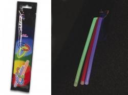 set lichtstaafjes Ø 0.5 x 20 cm - verschillende kleuren (3 st./set) - hqls10002