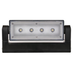 LED Wandlamp SL12 zwart 3000K - 47355 wl12 wandlamp