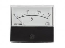 analoge paneelmetervoor ac spanningsmetingen 300v ac / 70 x 60mm - AVM70300
