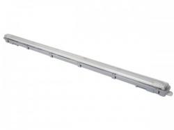 plafondlamp met t8-ledlamp - waterdicht - buis - 126.5 cm - neutraalwit - leda98nw
