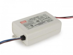 constant current led driver - single output - 500 ma - 25 w - apc-25-500