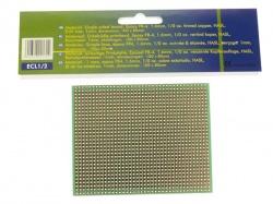 eurocard volle-lijn patroon - 100x80mm - fr4 (1st./bl.) - ECL1/2