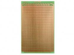 eurocard 2 gaten per eiland - 100x160mm - fr4 (1st./bl.) - ECS2