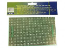 eurocard met centronix/sub-d patroon  - 100x160mm - fr4 (1st./bl.) - ECSD