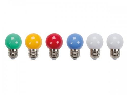 gekleurde ledlampen - 10 st. - hqpl11021