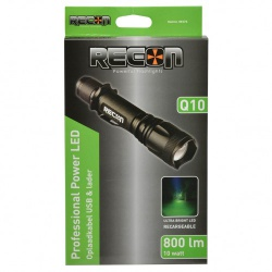 RECON Q10 POWERLED ZAKLAMP 10W OPLAADBAAR - recon q10