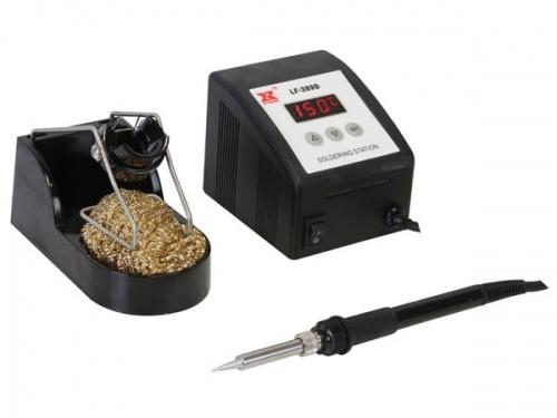 soldeerstation - 60w/230v - temperatuurregeling & keramisch verwarmingselement - VTSSC75