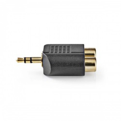 Stereo Audioadapter   3,5 mm male - 2x RCA female - cabw22940at