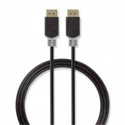 DisplayPort-kabel | DisplayPort male - DisplayPort male | 2,0 m | Antraciet - ccbw37000at20