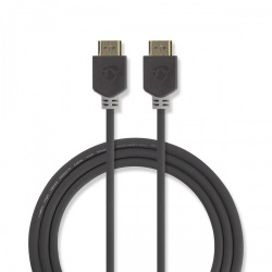 High Speed HDMI™-kabel met Ethernet | HDMI™-connector - HDMI™-connector | 3,0 m | Antraciet - cvbw34000at30