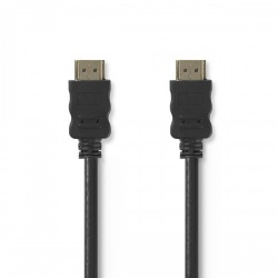 High Speed HDMI™-kabel met Ethernet | HDMI™-connector - HDMI™-connector | 1,0 m | Zwart - cvgt34000bk10