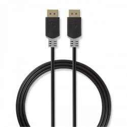 DisplayPort 1.4-Kabel | DisplayPort Male - DisplayPort Male | 3,00 m | Antraciet - ccbw37014at30
