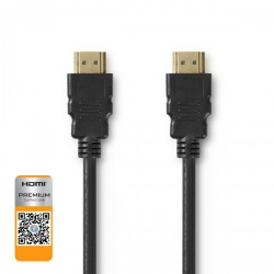 Premium High Speed HDMI™-Kabel met Ethernet | HDMI™-Connector - HDMI™-Connector | 3,00 m | Zwart - cvgb34050bk30