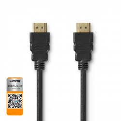 Premium High Speed HDMI™-Kabel met Ethernet | HDMI™-Connector - HDMI™-Connector | 5,00 m | Zwart - cvgp34050bk50
