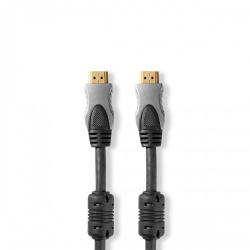 High Speed HDMI™-Kabel met Ethernet | HDMI™-Connector - HDMI™-Connector | 5,00 m | Antraciet - cvgc34000at50