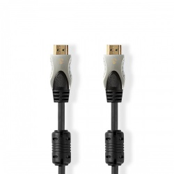 Ultra High Speed HDMI™-Kabel | HDMI™-Connector - HDMI™-Connector | 2,0 m | Antraciet - cvgc35000at20