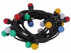 led-feestslinger met 20 gekleurde led-lampen - hqpl11010