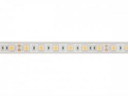flexibele ledstrip - wit 3000k - 60 leds/m - 5 m - 24 v - ip68 - cri90 - e24w230w30