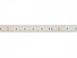 flexibele ledstrip - wit 6500k - 60 leds/m - 5 m - 24 v - ip68 - cri90 - e24w230w65