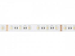 flexibele ledstrip - 1 chip rgb en white 2700k - 60 leds/m - 5 m - 24 v - e24n830rgbw