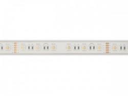flexibele ledstrip - 1 chip rgb en wit 2700k - 60 leds/m - 5 m - 24 v - ip68 - e24w830rgbw