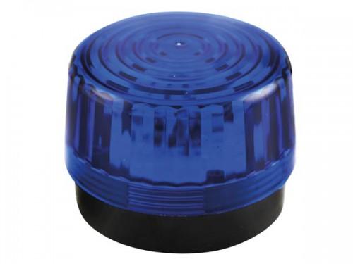 led-knipperlicht - blauw - 12 vdc -  ø 100 mm - haa100bn