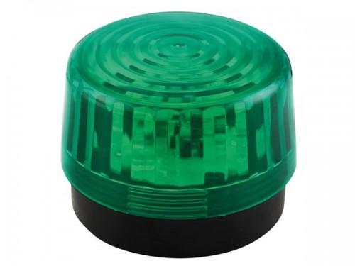 led-knipperlicht - groen - 12 vdc -  ø 100 mm - haa100gn