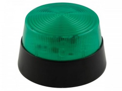 led-knipperlicht - groen - 12 vdc -  ø 77 mm - haa40gn