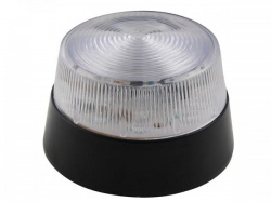 led-knipperlicht - transparant - 12 vdc -  ø 77 mm - haa40wn