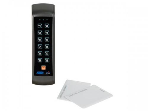codeklavier voor toegangscontrole met tweevoudig relais - weerbestendig - haa2890