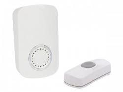 draadloze plug-in deurbel - 1 drukknop - edp1
