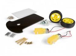 robotica-kit frame met motor en 2 wielen - vma500