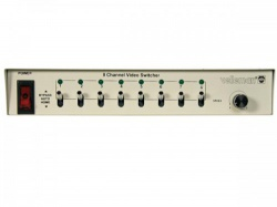 8-kanaals video switcher 8 ingangen / 1 uitgang - vms8