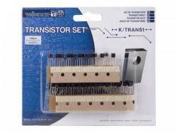 set transistoren - 100 st. - 8 waarden - k/trans1