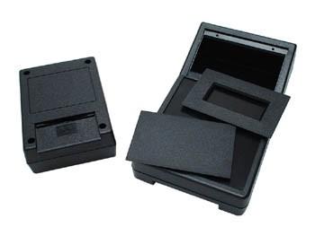 abs-behuizing - zwart 111 x 82 x 38mm - g1202bc