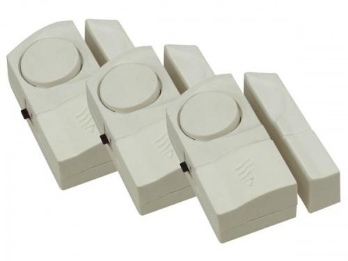 inbraakalarm voor beveiliging van ramen en deuren (3 sets) - ham103