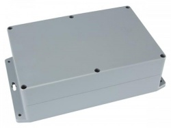 waterbestendige abs-behuizing met montageflens 222x146x75mm - g353mf