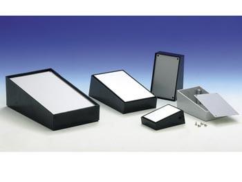 pult 102.9 behuizing - zwart 110 x 70 x 48.3mm - tk102b