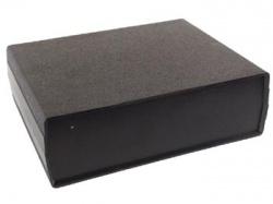 instrumentbehuizing - zwart 200 x 160 x 65mm - wcah2505
