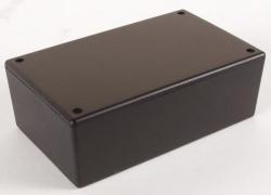 plastic behuizing - zwart 160 x 95 x 55mm - wcah2851