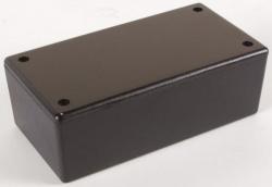 plastic behuizing - zwart 130 x 70 x 45mm - wcah2853