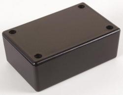 plastic behuizing - zwart 85 x 55 x 30mm - wcah2855