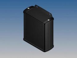 aluminium behuizing - zwart - 100 x 85.8 x 36.9 mm - tk21.9
